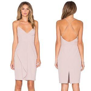 Stylestalker | Goldstein Sheath Dress in Dusk Pink